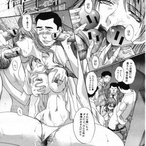 【エロ漫画】最悪の家庭環境で教師と母親のセックスを目の当たりにしたJK娘は母親と一緒に教師チンポに犯される!