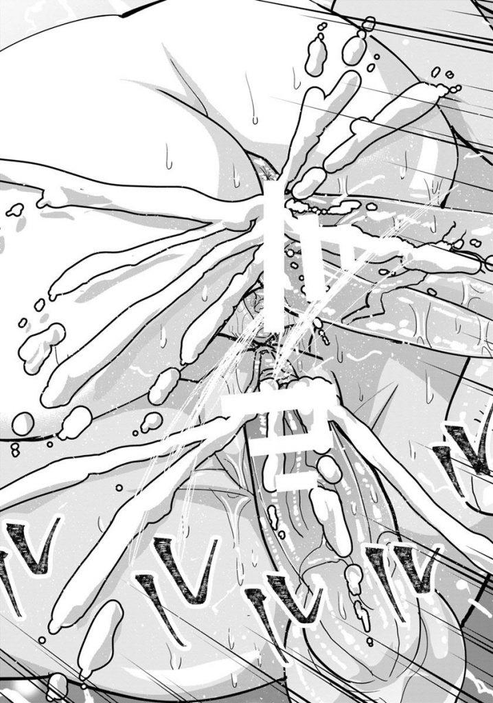 【エロ漫画】清楚系ビッチだった友達に誘われた処女ビッチJKは乱交場に連れて行かれ処女膜貫通後中出しされセックスの悦びを知る【テクノブレイク依存症/友情インモラル】