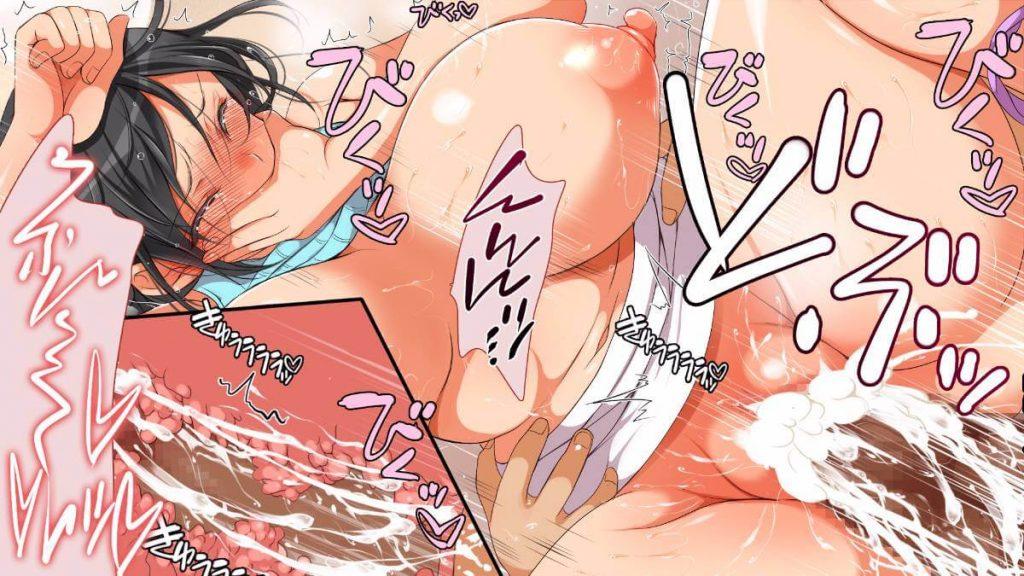 【爆乳人妻レイプエロ漫画】ご近所の爆乳に性欲処理してもらう男の子。おばさんの口マンコを性欲処理の道具のように使い不意を突きスカートをずらし挿れごろまんこに連続射精しながらピストンをし快楽堕ちさせる。【まろん☆まろん/ガ●にもどって犯りなおしっ!!!】